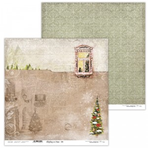 Paper 30x30 cm  - Christmas in Town 04 - Lexi Design