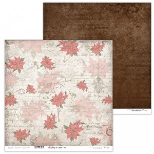 Paper 30x30 cm  - Christmas in Town 05 - Lexi Design