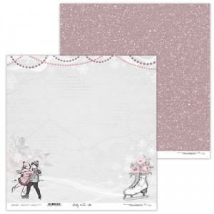 Paper 30x30 cm  - Shabby Winter 04 - Lexi Design