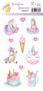 Rainbow Unicorn - Stickers