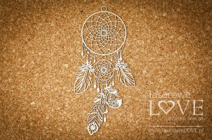 Chipboard - Large dreamcatcher - Indiana