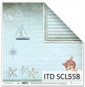 Papier do scrapbookingu - SCL558 - ITD Collection
