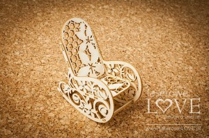 .Chipboard -  Rocker 3D - Flower