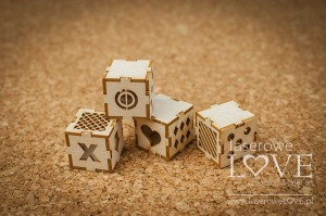 .Chipboard - Blocks 3D - Vintage Baby
