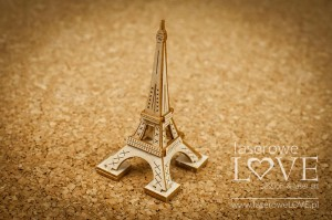 Chipboard - Eiffel Tower, 3D - Vintage Trip
