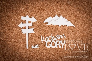 .Chipboard - I love mountains - Forest Camp