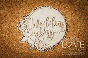 Tekturka - Wedding Day - Flower