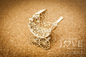 .Chipboard - Troley 3D - Baby lily