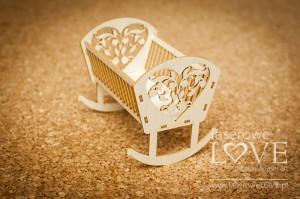 .Chipboard - Cradle 3D - Baby lily