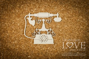 Chipboard - Telephone - Vintage Trip