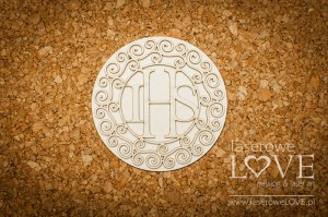 .Chipboard - Empty host with round ornaments - Significato