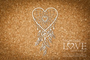 .Chipboard -  Dream catcher - Indiana