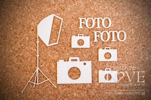 .Chipboard - Camera and softbox