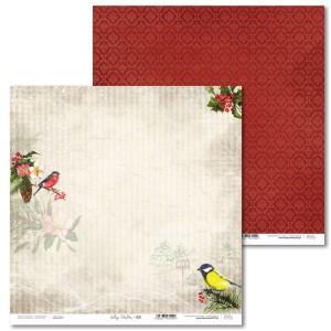 Papier 30 x 30 cm - Vintage Christmas - 03 - Laserowe LOVE