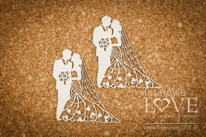 .Chipboard - Wedding couple - First Love