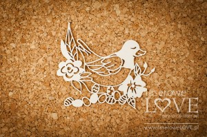 Chipboard - Hen - Easter Bunny