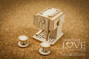 Chipboard - Retro Coffee machine 3D - Vintage Trip