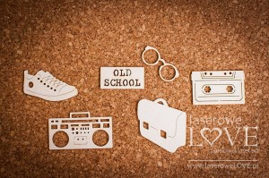 Chipboard  - Old school Back to school