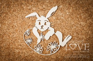 .Chipboard -  Rabbit  - Easter Bunny