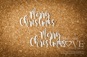 .Chipboard -  Merry Christmas  - Winter Fun