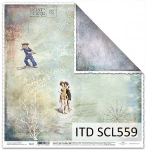 Papier do scrapbookingu - SCL559 - ITD Collection