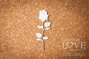 Chipboard - Rose