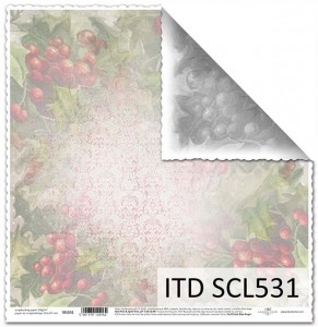 Papier do scrapbookingu - SCL531 - ITD Collection