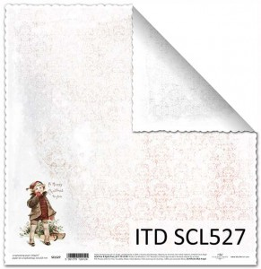 Papier do scrapbookingu - SCL527 - ITD Collection