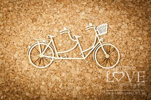 Chipboard -  Tandem bicycle