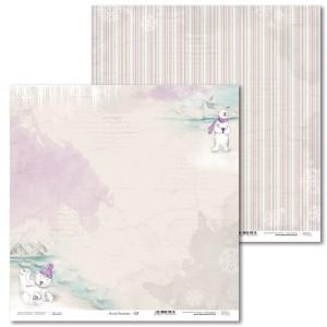Papier 30 x 30 cm - Arcitc Sweeties - 01 - Laserowe LOVE