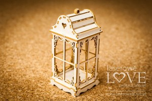 Chipboard - Vintage lantern 3D - Winter Fun