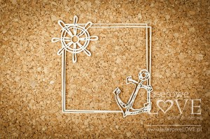 Chipboard - Anchor - Ocean Adventure