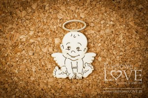 .Chipboard - Angel boy 2 items - Emma & Billy
