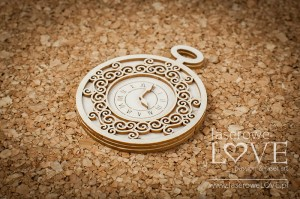 Chipboard - Woman's watch - Vintage Trip