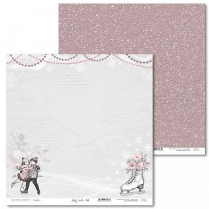 Paper 30 x 30 cm - Shabby Winter - 04 - Laserowe LOVE