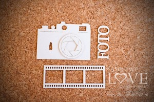 Chipboard - Camera with film