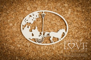 .Chipboard - Small cab - Wedding Day