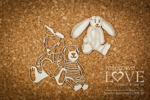 .Chipboard - Plushies - Vintage Baby
